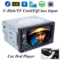 6.2Inch Car GPS Navigation Radio DVD Player Rear View 2 DIN Stereo Touch Screen