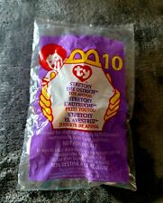 New 1999 Ty Beanie Babies Stretchy Ostrich #10 McDonald's Happy Meal Toy