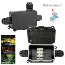 Waterproof Junction Box Cable Switch Connection Enclosure Case IP66 2Way Outdoor