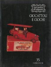 LIBRO Giocattoli e giochi Fabbri Editori