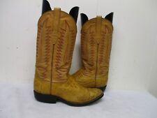 Hemisferio Alligator Leather Cowboy Boots Mens Size 6.5 M
