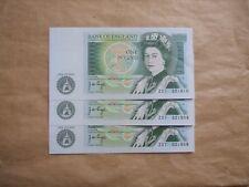 X 3 Banque Du Angleterre Billets, Prefix Z37, Page