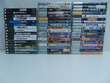 Lot of 52 Sony PSP Games and UMD Movies - Wipeout Pure, Surfs Up, MLB: The Show