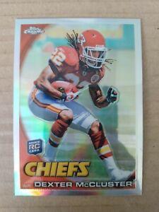 2011 Topps Chrome Refractor Dexter McCluster Chiefs Rookie Card