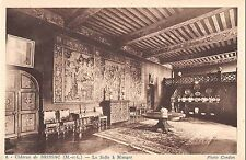 BF9383 chateau de brissac m et l la salle a manger france       France