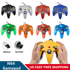 Wired USB N64 Port Gamepad N64 Controller Remote Joystick For Classic N64 Games