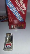 RARE MARLBORO LIGHTER butane lighted In Original Package Vintage RECALLED 1992