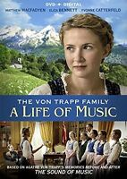 Von Trapp Family: A Life Of Music (2016, DVD NUOVO) (REGIONE 1)
