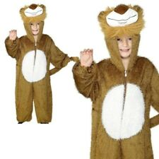 Lion Boogie Woogie Kids Jungle Animal Fancy Dress Book Child Costume Outfit Medi