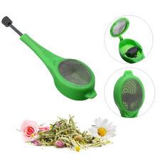 allentato Tea Leaf Strainer erbe Spice Filtro diffusore Silicone Mesh Tè infus