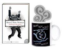 Brave New World by Aldous Huxley (2006, Paperback) Book Lover's Book & Mug Set