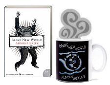 BRAVE NEW WORLD (pb) Aldous Huxley - Book Lover's Book & Mug Set NEW