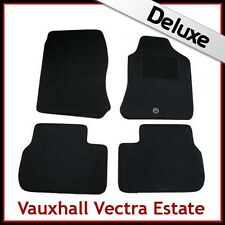VAUXHALL VECTRA B Estate 1995-2002 Tailored LUXURY 1300g Carpet Car Mats BLACK
