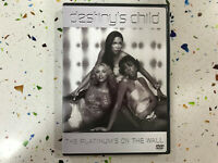 DESTINY'S CHILD DVD THE PLATINUM'S ON THE WALL