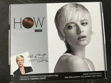 How LUXHAIR Short Top Head Extensions TABITHA COFFEY Darkest Brown New NIB
