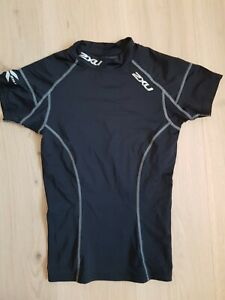 2XU Elite Compression Shirt Short Sleeves Compression Jersey Ladies Size S