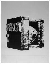 Mario CEROLI, incisione 1971, 50x70 cm, esemplare 47/110, ottima