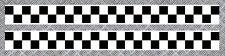 2 X BANDES DAMIERS + FILET STRIPE RACING AUTOCOLLANT STICKER 50mmX540mm (BA169)