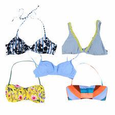 Lucky Brand женские Верх бикини купальный костюм купальник Купальник с узором новый новый с ценниками