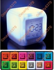 Aurora Touch Mood Clock Multi Colour Change Travel Size Batteries Inc UK(BNIB)