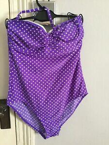 BNWT m/&s Secret Amincissant bleu marine à Jupes Maillot de bain robe de bain taille 26
