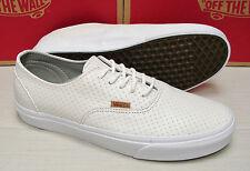 Vans Era Decon Leather Emboss Blanc de Blanc Men's Size 7.5