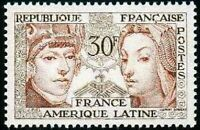"FRANCE STAMP TIMBRE N° 1060 "" AMITIE FRANCE AMERIQUE LATINE 30F "" NEUF xx LUXE"
