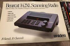 Nos Uniden Bearcat 142Xl Vhfuhf 10 Channel Emergency Scanner Radio Receiver