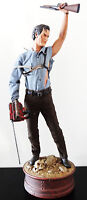 SIDESHOW EVIL DEAD ARMY OF DARKNESS ASH PF FIGURE STATUE BUST CULT CLASSIC RARE