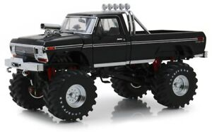 GREEN13538 - Vehicle Monster Truck Ford F-250 Pick-Up Of 1979 Of Black