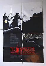 THE NAVIGATOR movie poster 1988 time travel sci fi MEDIAEVAL ODYSSEY Vince WARD
