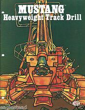 Equipment Brochure - Joy - Mustang - Track Rock Drill Mining - c1981 (E3194)