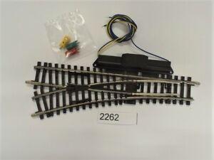 MÄRKLIN 2262 K-Gleis Elektrische Weiche links r424,6 mm #NEU# 1 Stück#