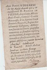 Ex-praemio (ex-libris) du Collège de Châlons-en-Champagne, 1777.