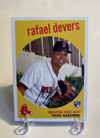 Lot (2) 2018 Topps Archives Rafael Devers Boston Red Sox RC Rookie Card W/ Coin