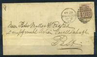 Grossbritannien 1827 Brief 100% MANCHESTER, Baratty
