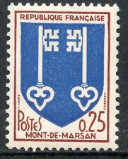 STAMP / TIMBRE FRANCE NEUF LUXE ** N° 1469 ** BLASON / MONT DE MARSAN