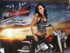 Amanda Beard/Budweiser Poster 2008 Olympics