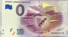 BILLET 0 EURO SOUVENIR SPORT LISBOA E BENFICA PORTUGAL  2019-1