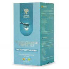 Renew Cleanse Triple Set - Body Cleansing & Detox System (90 cap) (Vegetarian )