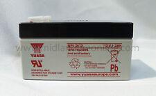 YUASA Battery, genuino, 12v/1.2ah BATTERIA al piombo sigillate-np1.2-12 GRATIS P&P