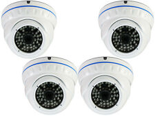 4 x  1200TVL Analog SONY Cmos Indoor Outdoor Night Vision Dome Security Camera