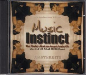 MASTERBITS - Music Instinct - The World´s First Pre-Looped Audio CD E-3/T Sample