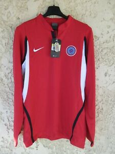 Maillot rugby ASBH BEZIERS NIKE rouge coton shirt S
