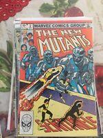 The New Mutants #2 April 1983 Marvel Comics