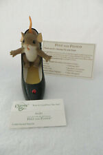 Fun Is Good For The Sole Charming Tails Fitz & Floyd 89/281 Signed- Mib