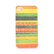 Hard Case For Apple iPhone 4 4S - Aztec Design 9