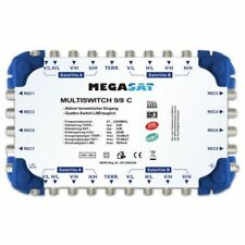 Megasat Multischalter 9/8 C Kaskade kaskadierbar Multiswitch DiSEqC Verteiler