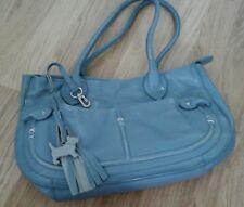 Radley blue leather bag medium