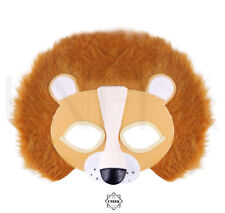 Lion Face Animal Mask - Jungle, Safari, Zoo Face Mask Fancy Dress Accessory Kids